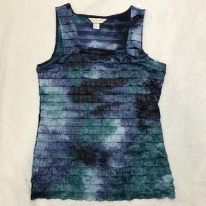Sparkly Christopher & Banks tank top size Small